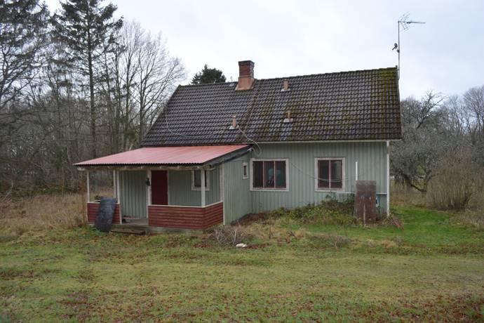 Bild: 7 rum villa på Flasebrovägen 11 + 13, Torsås kommun Bergkvara
