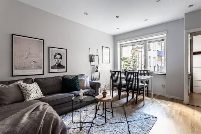 Bild: 2 rum bostadsrätt på Fridhemsgatan 60, Stockholms kommun Kungsholmen