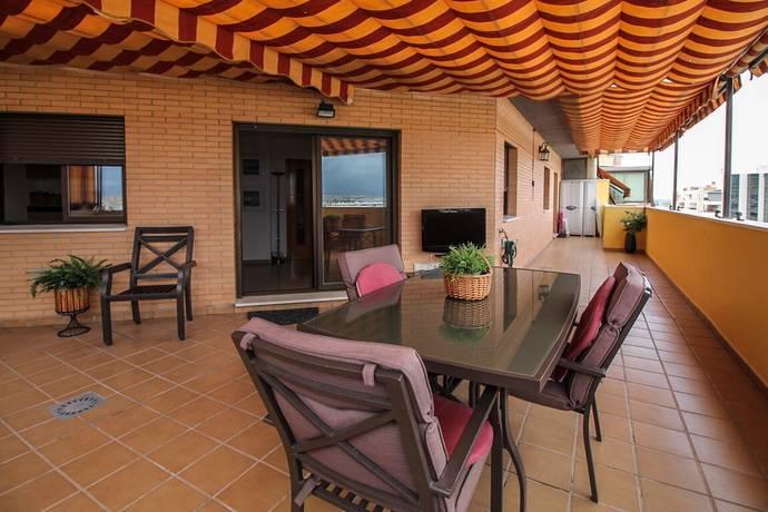 Bild: 4 rum bostadsrätt på Takvåning, Spanien Pacífico | Malaga