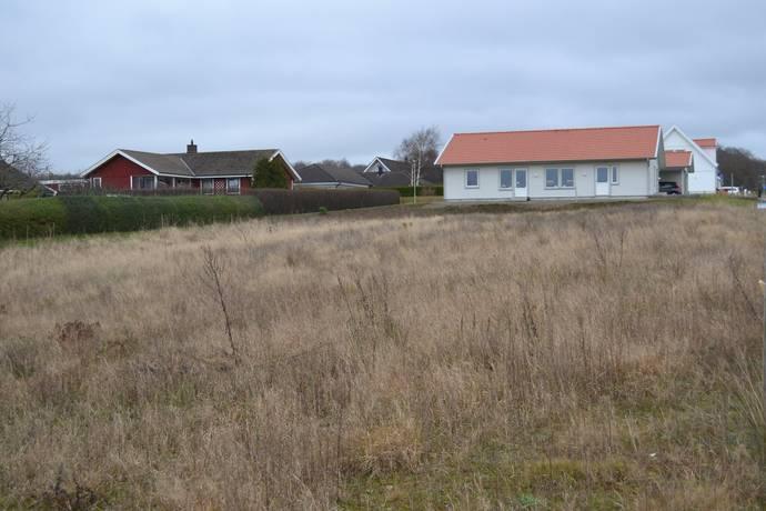 Bild: tomt på Örnekullsvägen 9, Ängelholms kommun Hjärnarp