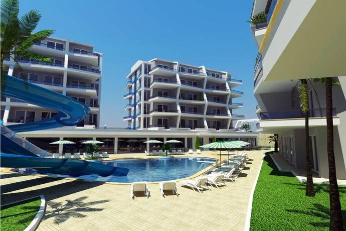 Bild: bostadsrätt på Alanya Crystal Nova Apartments id 2237, Turkiet Oba