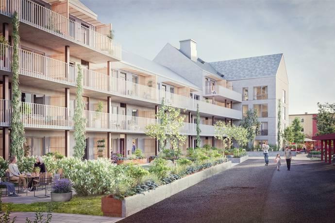 Bild från Centrala Vårgårda - Brf Bjelkes