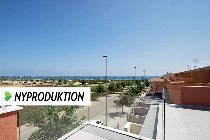Bild: 4 rum radhus på Strandnära radhus med havsutsikt > Dune Beach, Spanien Torrevieja Söder - Torre de la Horadada
