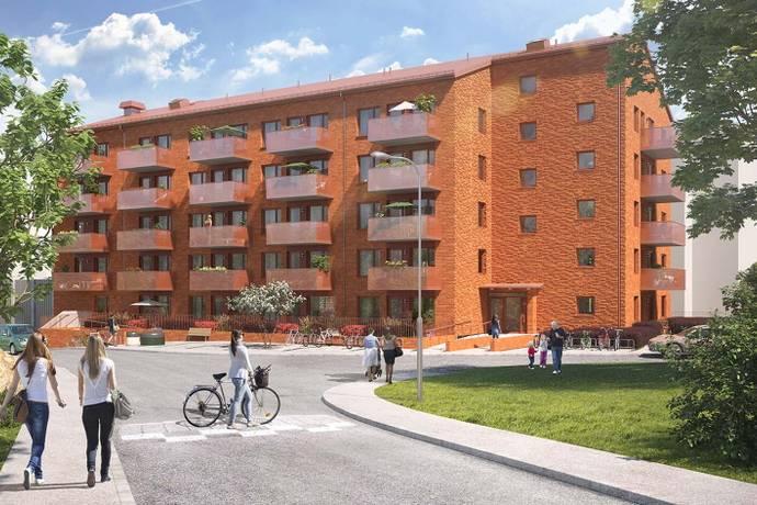 Bild: 2 rum bostadsrätt på Bildradiogatan 8B, Göteborgs kommun Västra Frölunda
