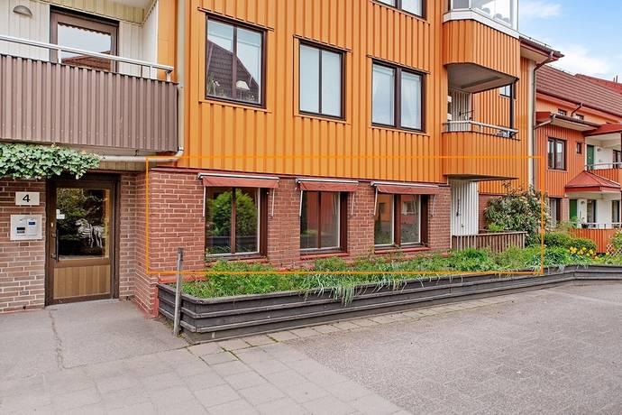 Bild: 2 rum bostadsrätt på Ridhusgatan 4, Uddevalla kommun Söder