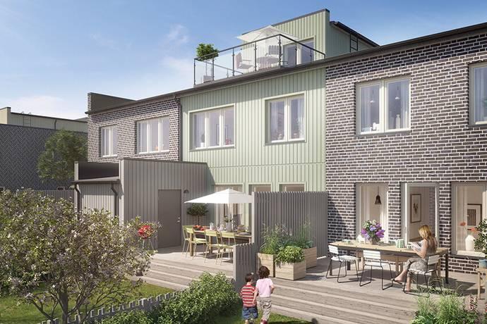 Bild: 5 rum radhus på Bäcklösavägen, Uppsala kommun Ultuna