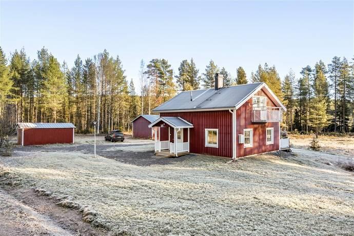 Bild: 4 rum villa på Lidbacken 10, Skellefteå kommun Lidbacken