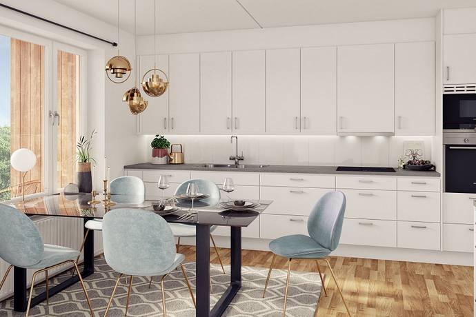 Bild: 4 rum bostadsrätt på Brännäsgatan Norra 9, Norrtälje kommun Norrtälje Hamn