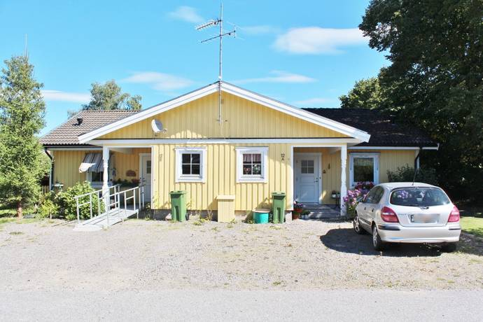 Bild: 4 rum radhus på Yrevallsvägen 12A&B, Arvika kommun Glava