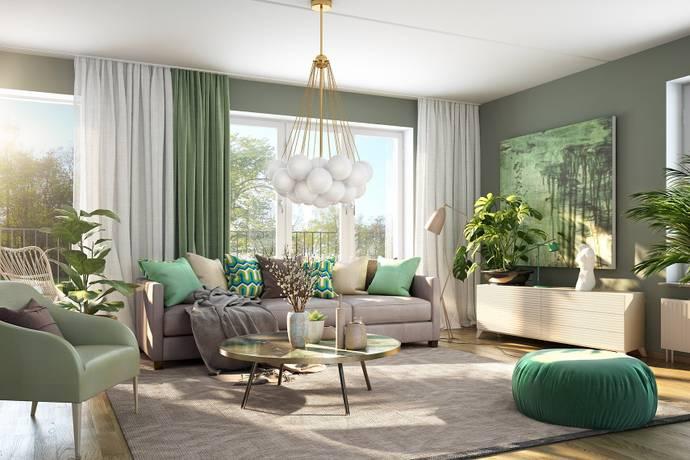 Bild: 3 rum bostadsrätt på Karlsbodavägen 18-20, Stockholms kommun