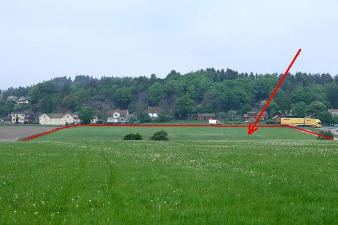 Bild: gård/skog på Istorp / Broby, Marks kommun Istorp / Broby