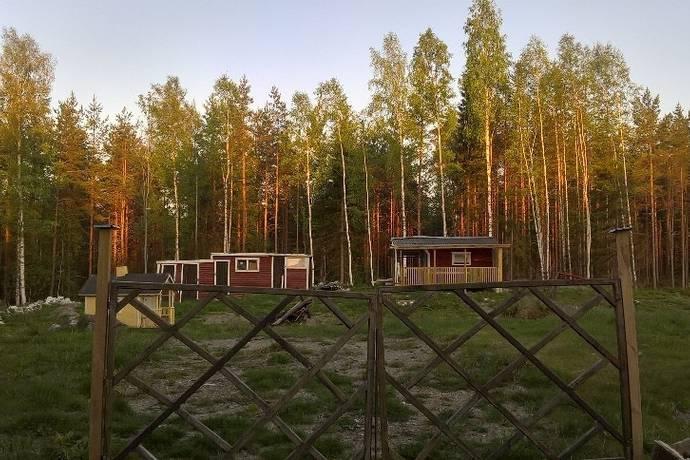 Bild: tomt på Hillevallsvägen 120, Gävle kommun Hille