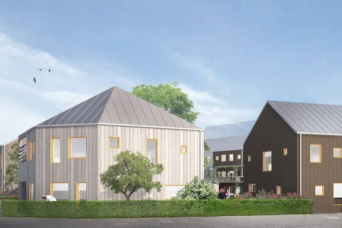 Bild: 5 rum villa på Elins Trädgårdskvarter, Växjö kommun