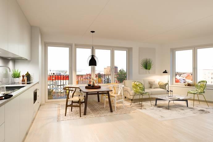 Bild: 2 rum bostadsrätt på Gränsgatan 26, vån 4 av 7, Solna kommun Solna-Näckrosen-Råsunda