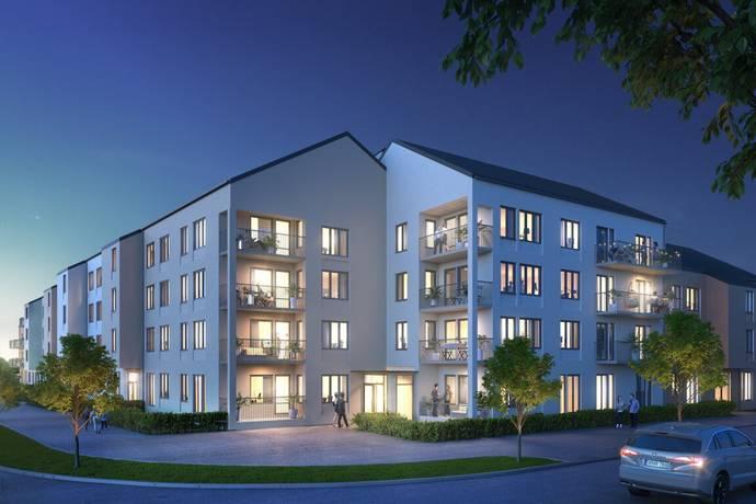 Bild: 3 rum bostadsrätt på BRF LILIUM, Uppsala kommun Nyby