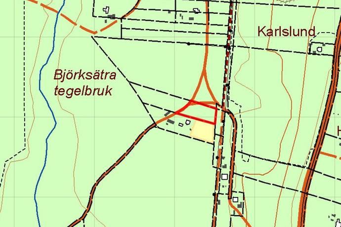 Bild: tomt på Persbacksvägen (tomt 2), Gävle kommun Rörberg