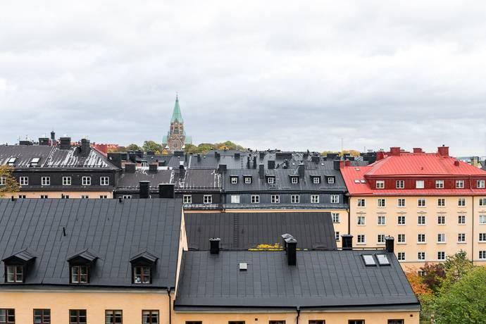 Bild: 3 rum bostadsrätt på Bjurholmsgatan 14, 6 tr, Stockholms kommun Södermalm Katarina