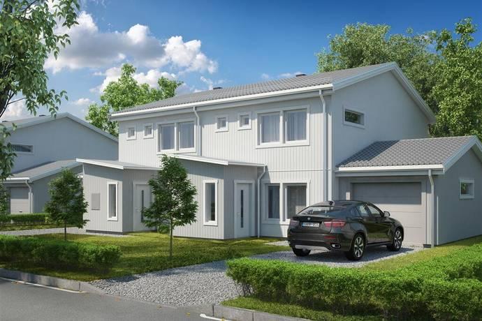 Bild: 4 rum radhus på Pilfinkvägen 3, 5, 7, 9, 11, Östersunds kommun Brittsbo