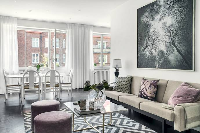 Bild: 4 rum bostadsrätt på Banérgatan 48, Stockholms kommun Östermalm