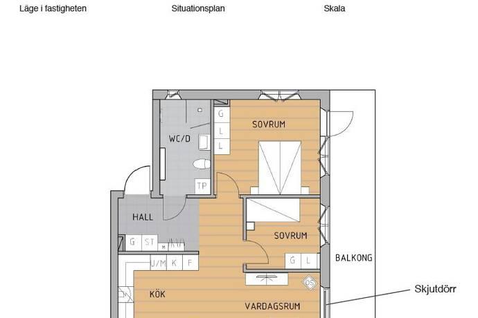 Bild: 3 rum bostadsrätt på Hoffmans väg - Åby Park, Norrköpings kommun Åby