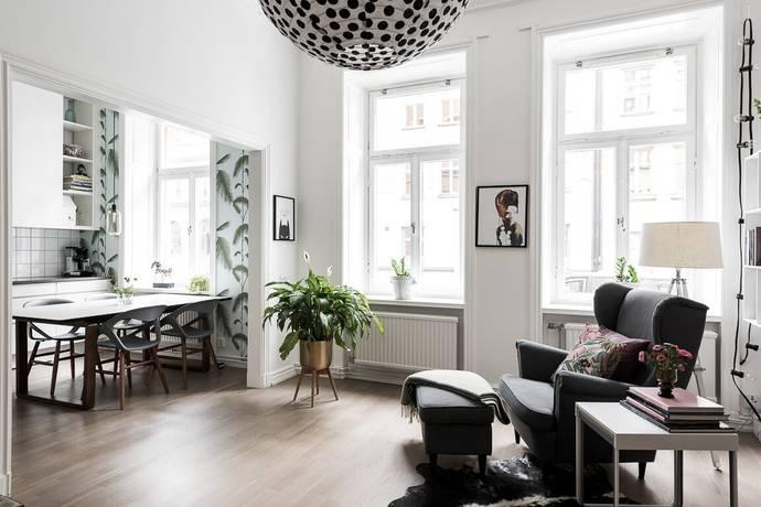 Bild: 4 rum bostadsrätt på Västmannagatan 82, Stockholms kommun Vasastan - Odenplan