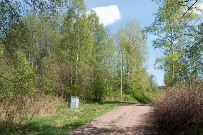 Bild: tomt på Överboda Parkgattu, Leksands kommun Leksand