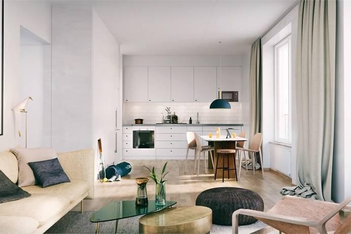 Bild: 2 rum bostadsrätt på Täby Market, Täby kommun