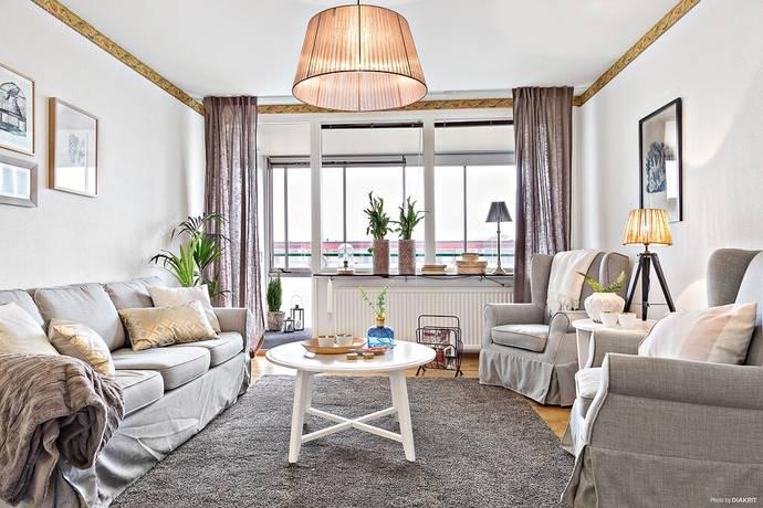 Bild: 3 rum bostadsrätt på Trädlyckevägen 110, Varbergs kommun Trädlyckan