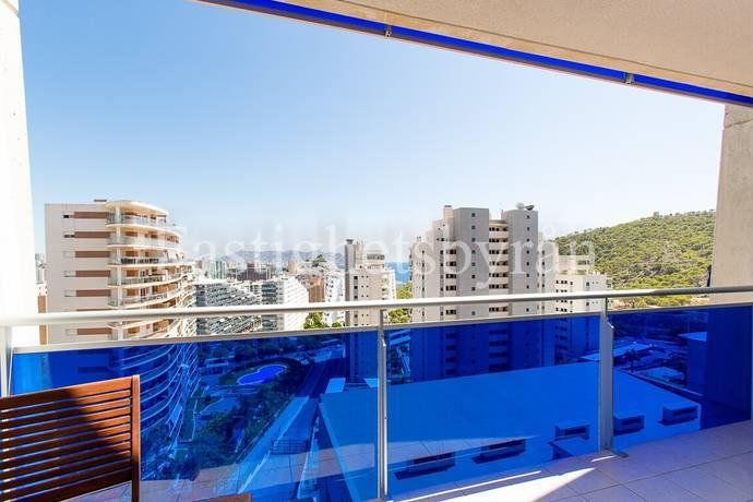 Bild: 2 rum bostadsrätt på 2:a med havsutsikt!, Spanien Villajoyosa   Costa Blanca