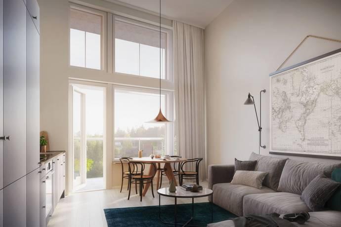Bild: 1 rum bostadsrätt på Näsbyvägen 2, 6 tr, Täby kommun Roslags Näsby