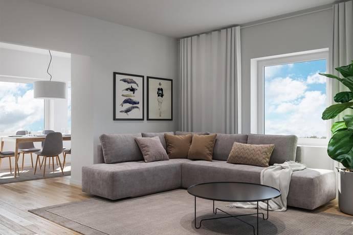 Bild: 3 rum bostadsrätt på Tullkammargränd 7 (3 rok), Nyköpings kommun Hamnen
