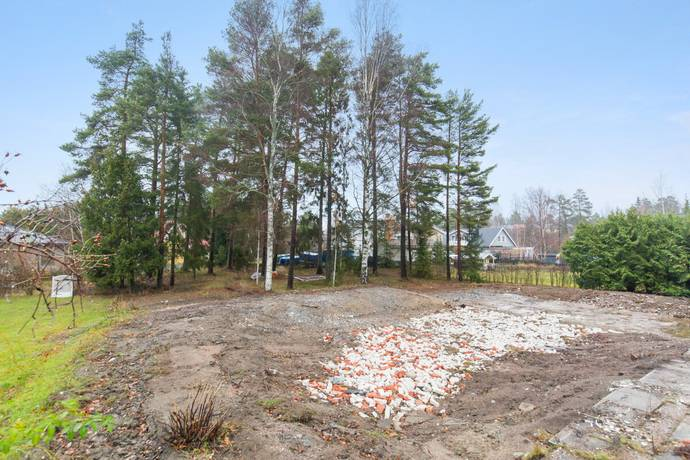 Bild: tomt på Sätervägen 4A, Järfälla kommun
