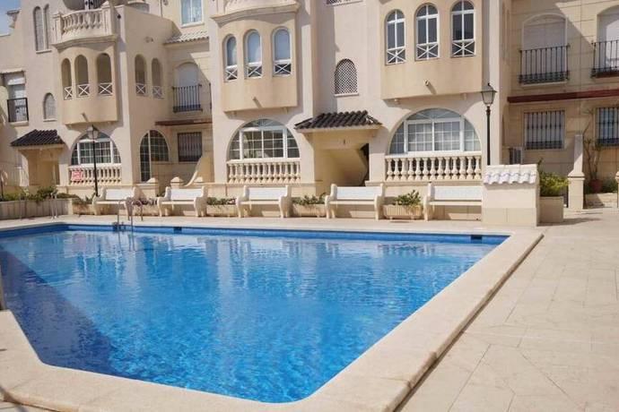 Bild: 3 rum bostadsrätt på 1:a Linjen / Pool / Marmor golv, Spanien Våning vid Playa Los Locos