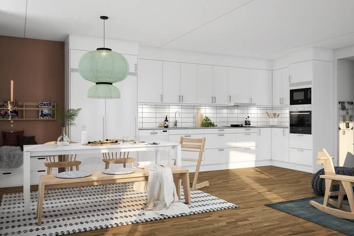 Bild: 4 rum bostadsrätt på Torggatan 4, Svedala kommun Bara centrum