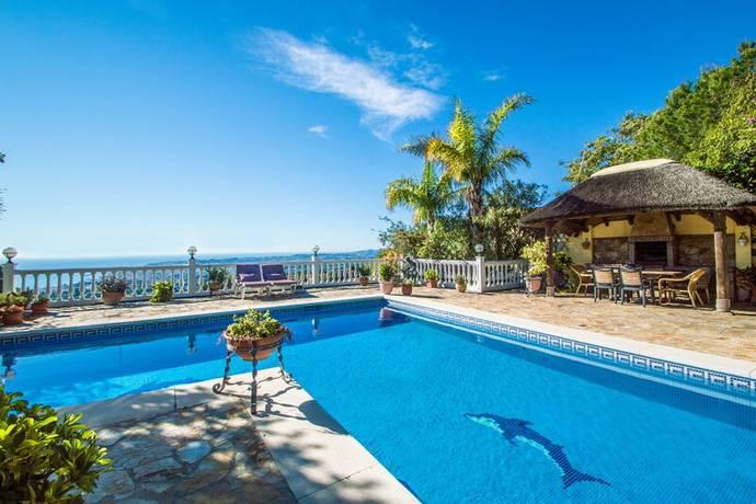 Bild: 10 rum villa på Villa i Mijas Costa, Costa del Sol, Spanien Mijas Costa