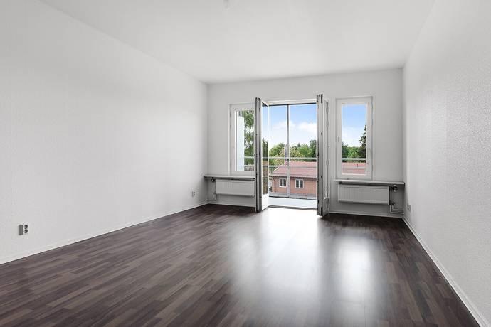 Bild: 2 rum bostadsrätt på Bäverbäcksgränd 72, Stockholms kommun Bandhagen