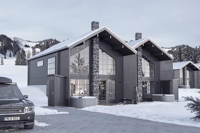 Bild: 5 rum bostadsrätt på Östra Hamrebacken, BRF Hamrebo, Åre kommun Duved