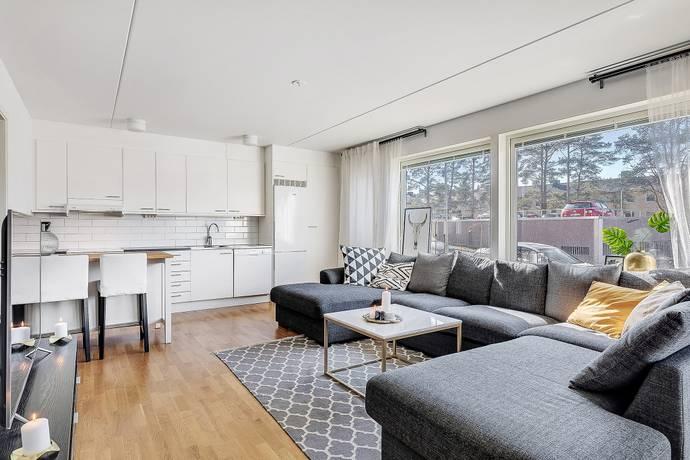 Bild: 2 rum bostadsrätt på Nybergsvägen 1, Järfälla kommun