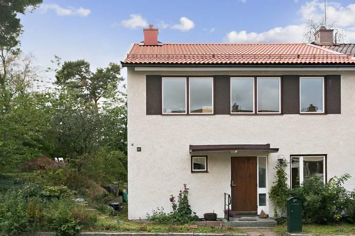 Bild: 4 rum radhus på Sämjevägen  23, Stockholms kommun Vällingby Nälsta