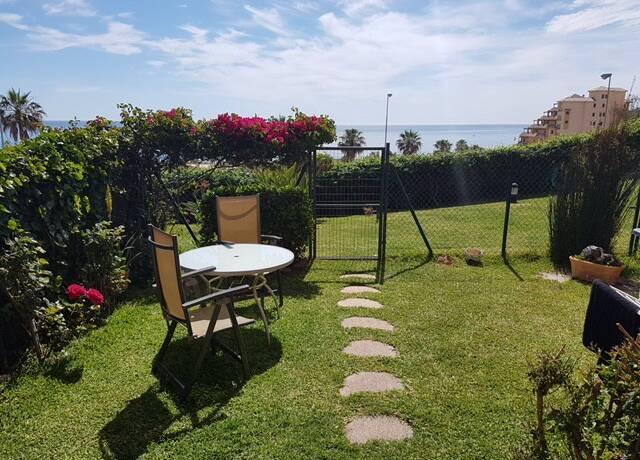 Bild: 4 rum bostadsrätt på FUENGIROLA-Härlig Lägenhet med privat trädgård nära Sohail slottet, Spanien Fuengirola