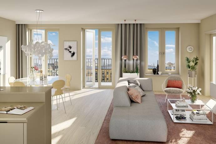 Bild: 5 rum bostadsrätt på Melodislingan, Stockholms kommun Östermalm