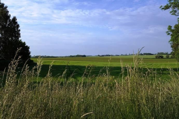Bild: tomt på Landsvägen 80, Skurups kommun