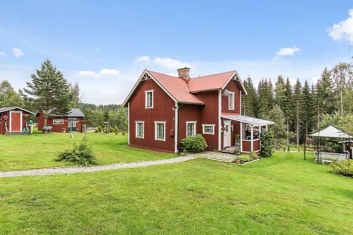 Bild: 120 m² villa på Frisbo 123, Hudiksvalls kommun Bjuråker