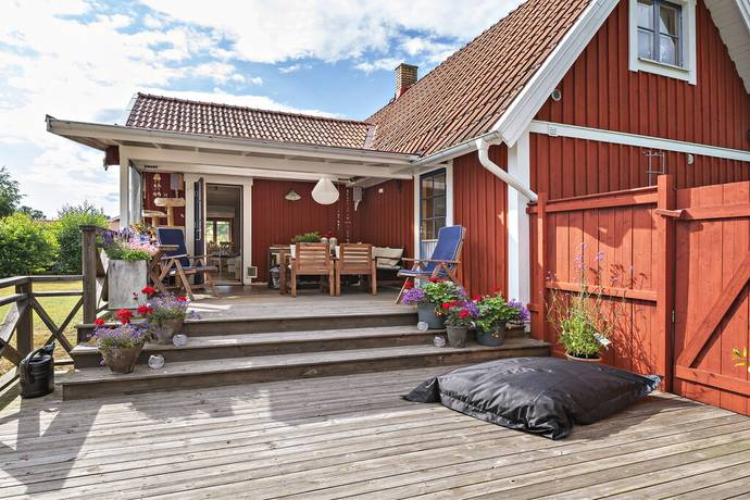 Bild: 3 rum fritidshus på Nogersundsvägen 199, Sölvesborgs kommun Hällevik