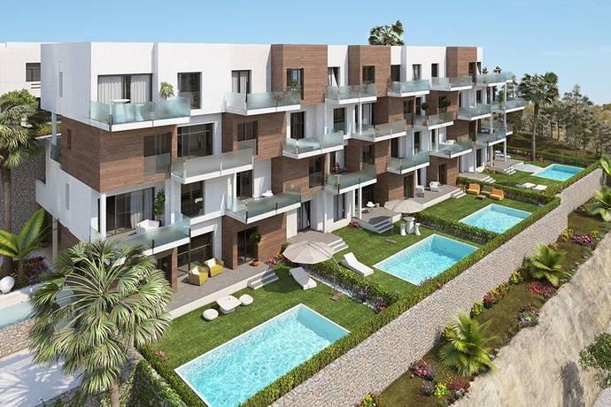 Bild: 4 rum bostadsrätt på Nya, exklusiva takvåningar på höjden i natursköna Campoamor, Spanien Costa Blanca - Villamartin
