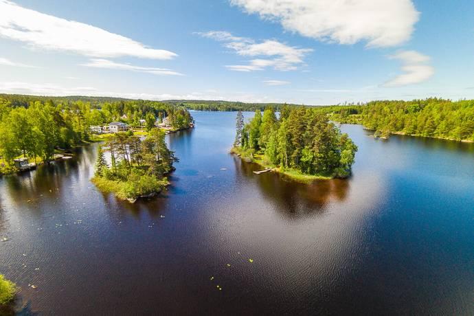 Bild: 2 rum villa på Västersjön Lilla Boö 1, Borås kommun Viared