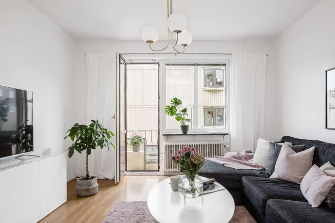 Bild: 2 rum bostadsrätt på Hammars Gata 10B, Halmstads kommun Centrum/öster