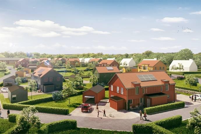 Bild från Tvååker - Fristående villa, Stenen Tvååker