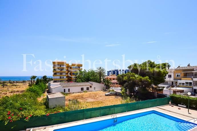Bild: 4 rum bostadsrätt på Nyrenoverad lägenhet med havsutsikt, Spanien Punta Prima | Torrevieja