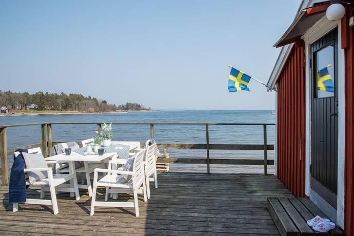 Bild: 4 rum fritidshus på Bylehamnsvägen 113, Norrtälje kommun Väddö Bylehamn